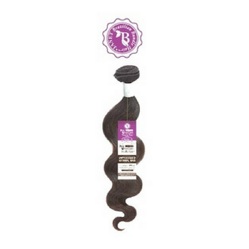 Janet Collection Unprocessed Brazilian Remy Hair Natural Body Wave- NATURAL BLACK