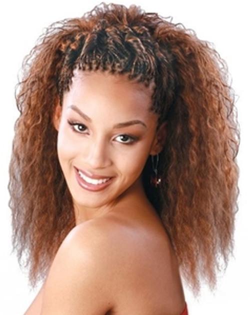 Janet Collection Wet Wavy 100 Human Braiding Hair Super French Bulk