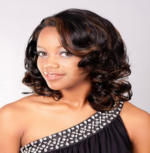 Aplus Ozone Synthetic Hair Lace Front Wig Lace 004