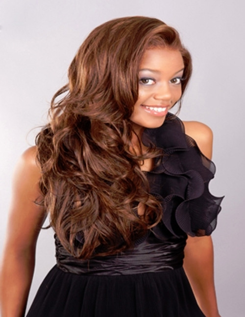 Aplus Ozone Synthetic Hair Lace Front Wig Lace 008