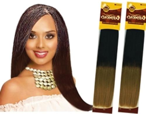 "Eve Cleopatra 100% Human Hair Remy Bulk 18"""