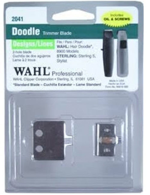 Wahl 2041 Hair TATTOO Blade Set