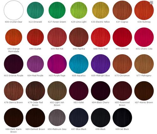 Kiss Express Color Semi Permanent Hair Color 3 5oz Top