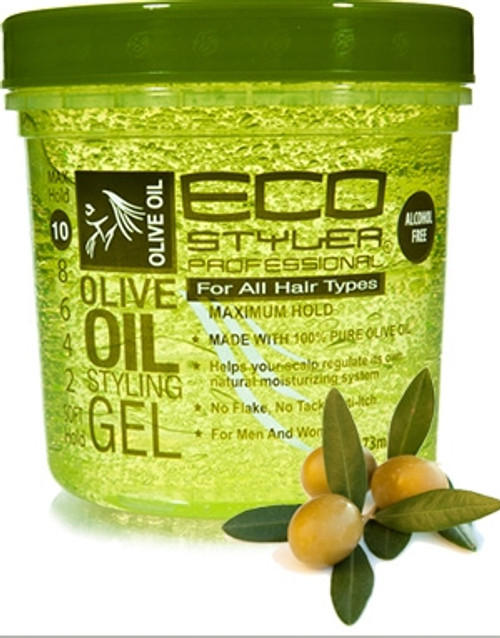 Eco Styler Styling Gel, Olive Oil, Max Hold 10- 8oz