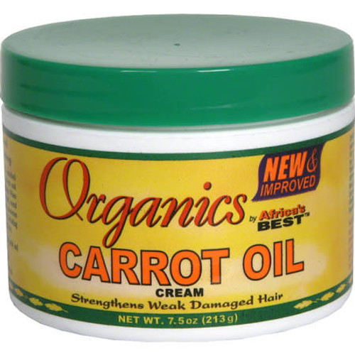 Africa's Best Organics Carrot Oil Cream - 7.5 oz