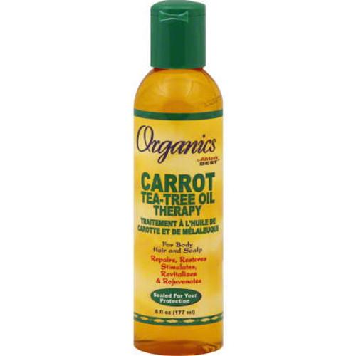 Africa's Best Organics Carrot Tea-Tree Oil Therapy - 6oz