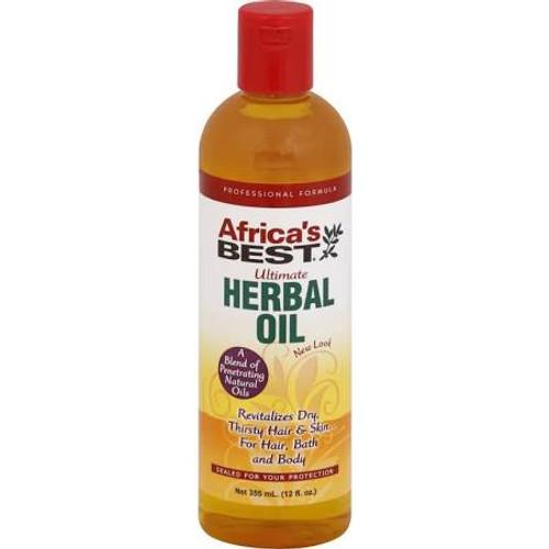 Africas Best Ultimate Herbal Oil, 8 oz