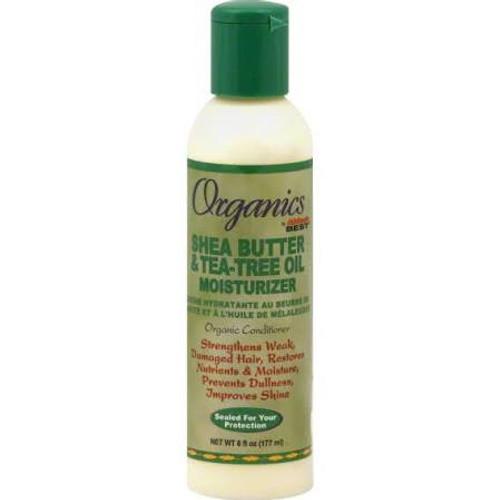 Africa's Best Organics Shea Butter & Tea-Tree Oil Moisturizer - 6oz