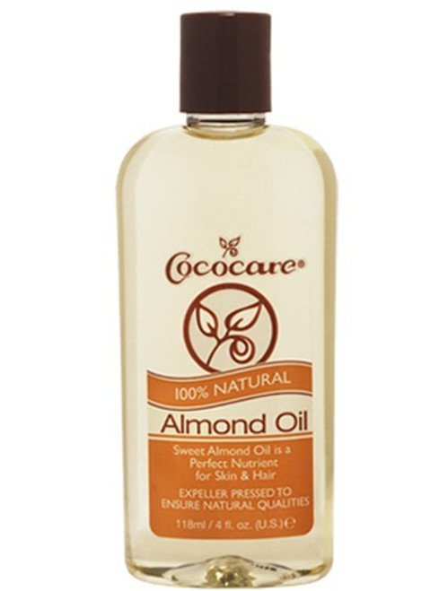 100% NATURAL ALMOND OIL- 4oz