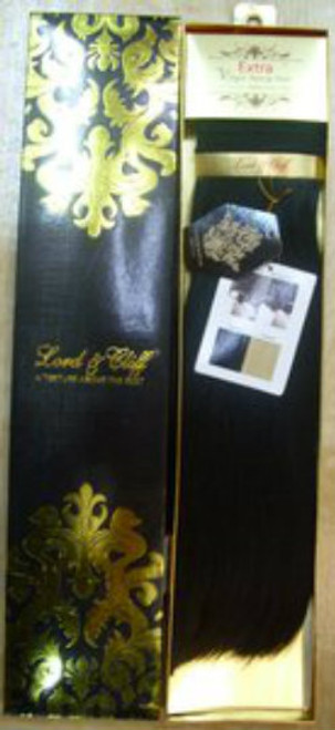 """Lord & Cliff Untreated Extra Virgin Remy Hair Weave- 18"""""""