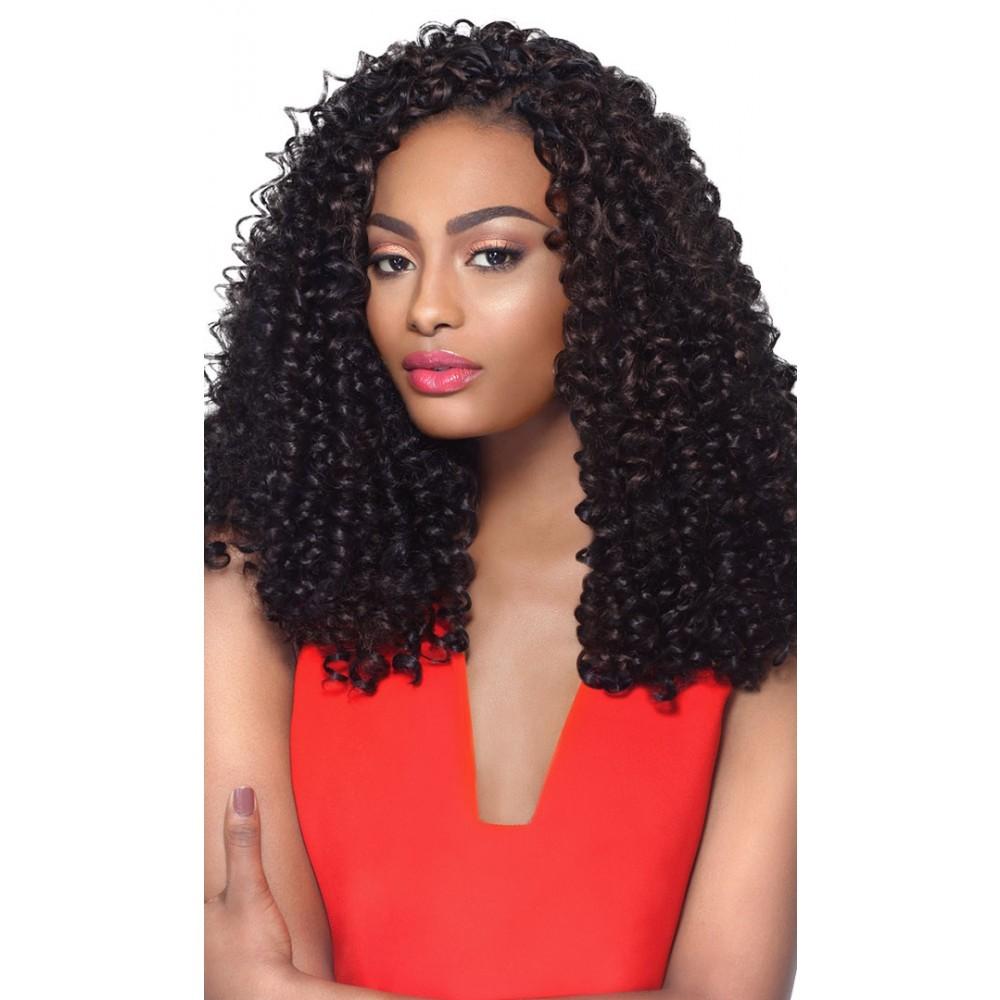 Xpression 4 In 1 Crochet Braid Bohemian Curl 14 Top Hair Wigs