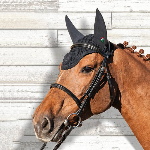 Equiline Soundless Ear Net Bonnet