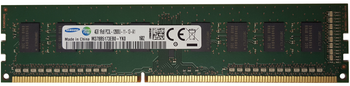 Samsung 4GB DDR3 1600MHz PC3-12800 240-Pin non-ECC Unbuffered 1.35V LV Single Rank DIMM Desktop Memory M378B5173EB0-YK0