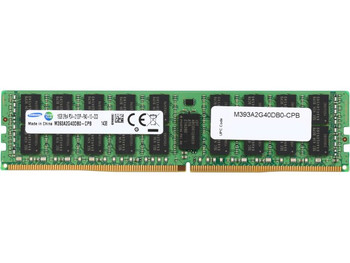 Samsung 16GB DDR4 2133MHz PC4-17000 288-Pin ECC Registered 1.2V Dual Rank DIMM Server Memory M393A2G40DB0-CPB
