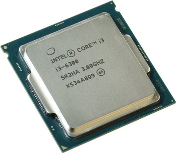 Intel Core i3-6300 3.80GHz Socket-1155 OEM Desktop CPU SR2HA CM8066201926905