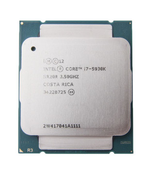 Intel Core i7-5930K 3.50GHz Socket-2011-3 Desktop CPU SR20R CM8064801548338