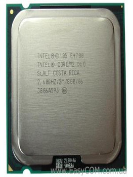 Intel Core 2 Duo E4700 2.6GHz OEM CPU SLALT HH80557PG0642M