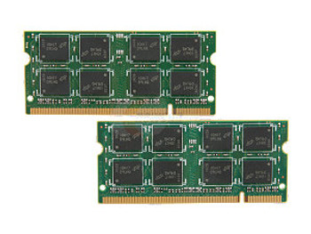 4GB(2X2GB) DDR2 667MHz PC2-5300 256X64 200Pin SODIMM Memory kit for Mac mini 2007 and 2008