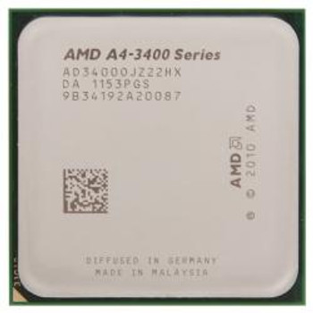 AMD A4-3400 2.70GHz Socket FM1 Desktop OEM CPU AD3400OJZ22HX