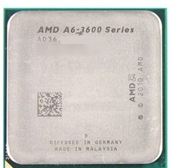 AMD A6-3600 2.10GHz Socket FM1 Desktop OEM CPU AD3600OJZ43GX
