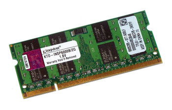Kingston 2GB DDR2 667MHz 200-pin SODIMM Laptop Memory KTD-INSP6000B/2G