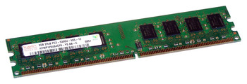 Hynix 2GB DDR2 667MHz PC2-5300 240-Pin non-ECC Unbuffered CL5 DIMM Dual Rank Desktop Memory HYMP125U64CP8-Y5