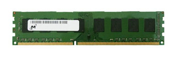 Micron 4GB DDR3 1600MHz PC3-12800 240-Pin non-ECC Unbuffered DIMM 1.35V Single Rank Desktop Memory MT8KTF51264AZ-1G6E1