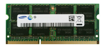 Samsung 4GB DDR3 1333MHz PC3-10600 204-Pin non-ECC Unbuffered Dual Rank SoDIMM Notebook Memory M471B5273DM0-CH9