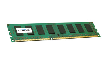 Crucial 4GB DDR3 1600MHz PC3-12800 240-Pin non-ECC Unbuffered Dual Rank DIMM Desktop Memory CT51264BA160BJ