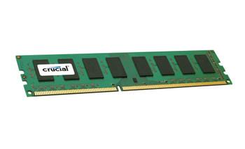 Crucial 4GB DDR3 1600MHz PC3-12800 240-Pin non-ECC Unbuffered Dual Rank DIMM Desktop Memory CT51264BA160BJ