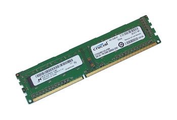 Crucial 2GB DDR3 1333MHz PC3-10600 240-Pin non-ECC Unbuffered Single Rank DIMM Desktop Memory CT25664BD1339