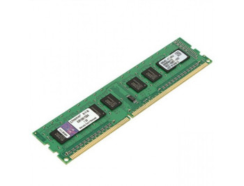 Kingston 4GB DDR3 1600MHz PC3-12800 240-Pin DIMM non-ECC Unbuffered Single Rank Desktop Memory KVR16N11S8/4