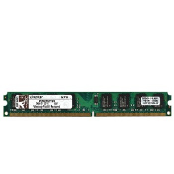Kingston 2GB DDR2 667MHz PC2-5300 240-Pin DIMM non-ECC Unbuffered Desktop Memory KVR667D2/2GR