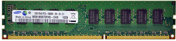 Samsung 2GB DDR3 1333MHz PC3-10600 240-Pin ECC Unbuffered Dual Rank DIMM Desktop Memory M391B5673FH0-CH9