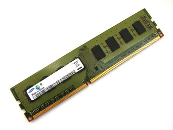 Samsung 8GB DDR3 1600MHz PC3-12800 240-Pin non-ECC Unbuffered 1.35V Dual Rank DIMM Desktop Memory M378B1G73EB0-YK0