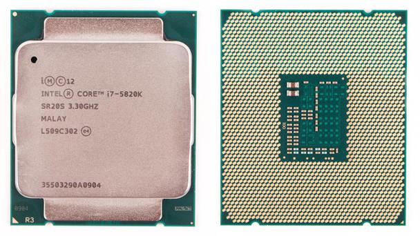 Intel Core i7-5820K 3.30GHz Socket-2011-3 OEM Desktop CPU SR20S CM8064801548435