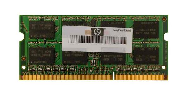 HP 8GB DDR3-1600MHz Notebook Memory Mfr P/N D8T57AV