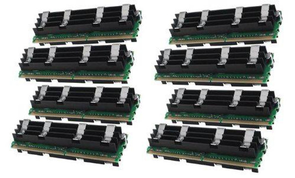 16GB(8X2GB) DDR2 800MHz PC2-6400 240Pin Fully Buffered Memory kit for Mac Pro System 2008