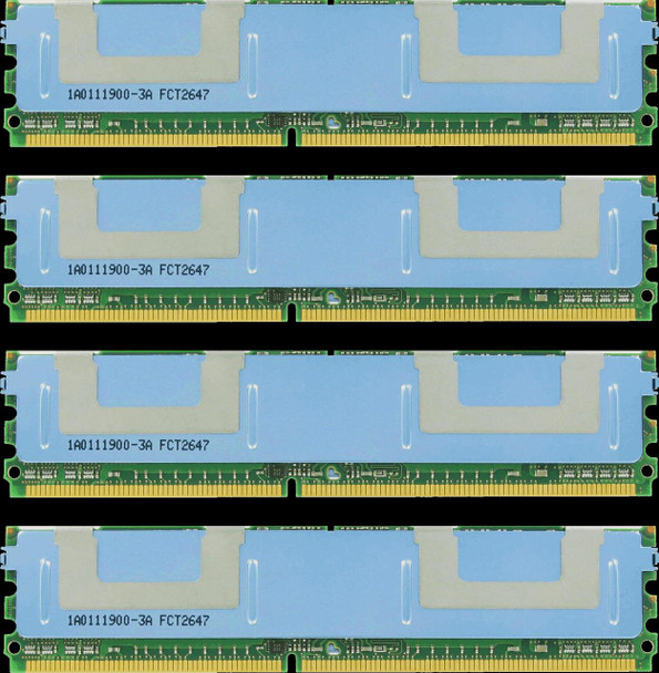 8GB(4X2GB) DDR2 800MHz PC2-6400 240Pin Fully Buffered Memory kit for Mac Pro System 2008