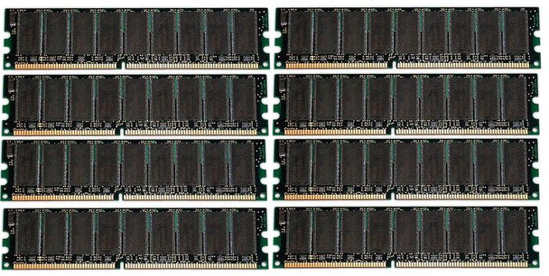 16GB(8X2GB) DDR3 1333MHz PC3-10600 240Pin 256MX72 ECC Unbuffered Memory kit for 12-Core Mac Pro System 2010-2012