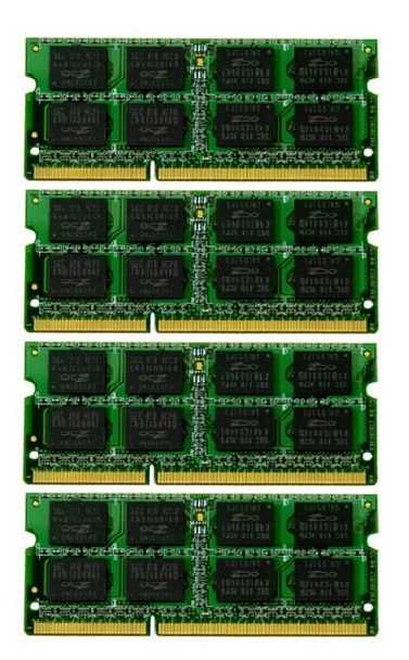 32GB(4X8GB) DDR3 1333MHz PC3-10600 204Pin SODIMM Memory kit for iMac 2010