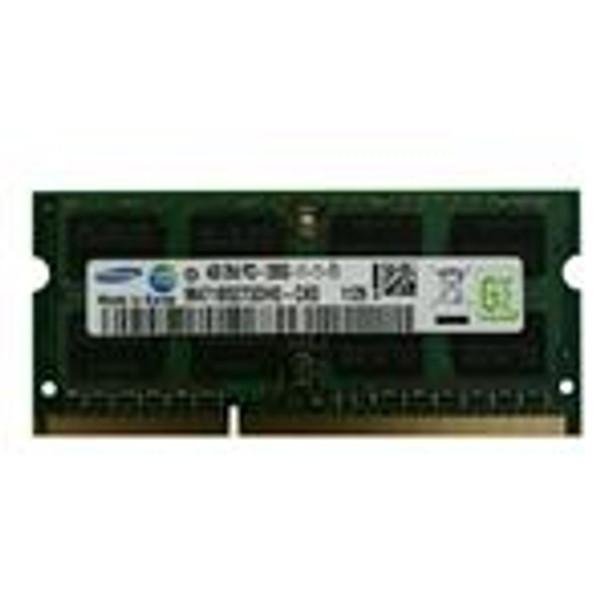 Samsung 4GB PC3-12800 DDR3-1600MHz non-ECC Unbuffered CL11 204-Pin SoDimm Dual Rank OEM Notebook Memory M471B5273DH0-CK0