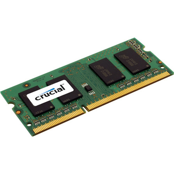 Crucial 8GB DDR3 1600MHz PC3-12800 204-Pin non-ECC Unbuffered Dual Rank SoDIMM Notebook Memory CT8G3S160BM