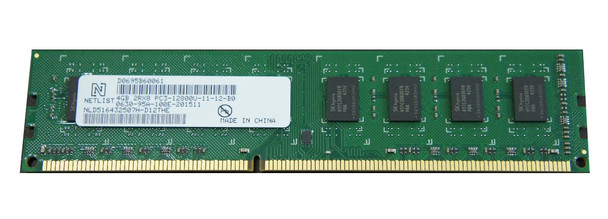 Netlist 4GB DDR3 1333MHz PC3-10600U 240-Pin DIMM Dual Rank Desktop Memory NLD516432507H