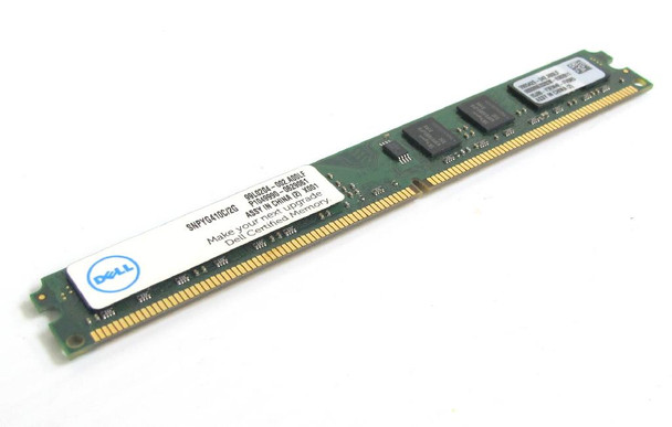Dell 2GB DDR2 800MHz PC2-6400 240-Pin DIMM non-ECC Unbuffered Dual Rank Desktop Memory SNPYG410C/2G