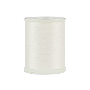 King Tut Cotton Quilting Thread 3-ply 40wt 500yds White Linen # 12101-971