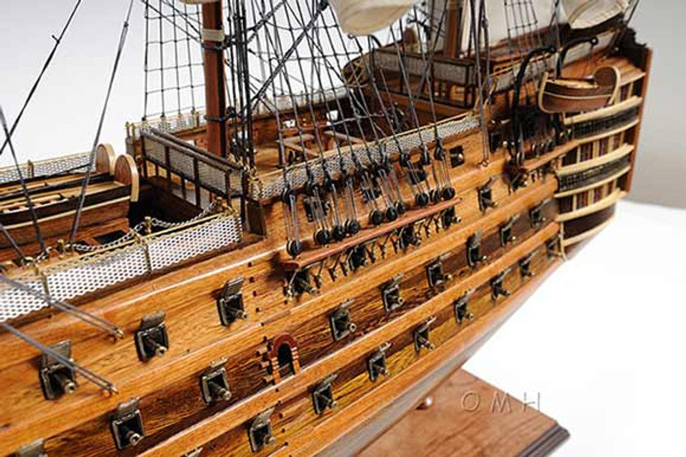 Hms Victory Medium Exclusive Edition Tall Ship Model T033
