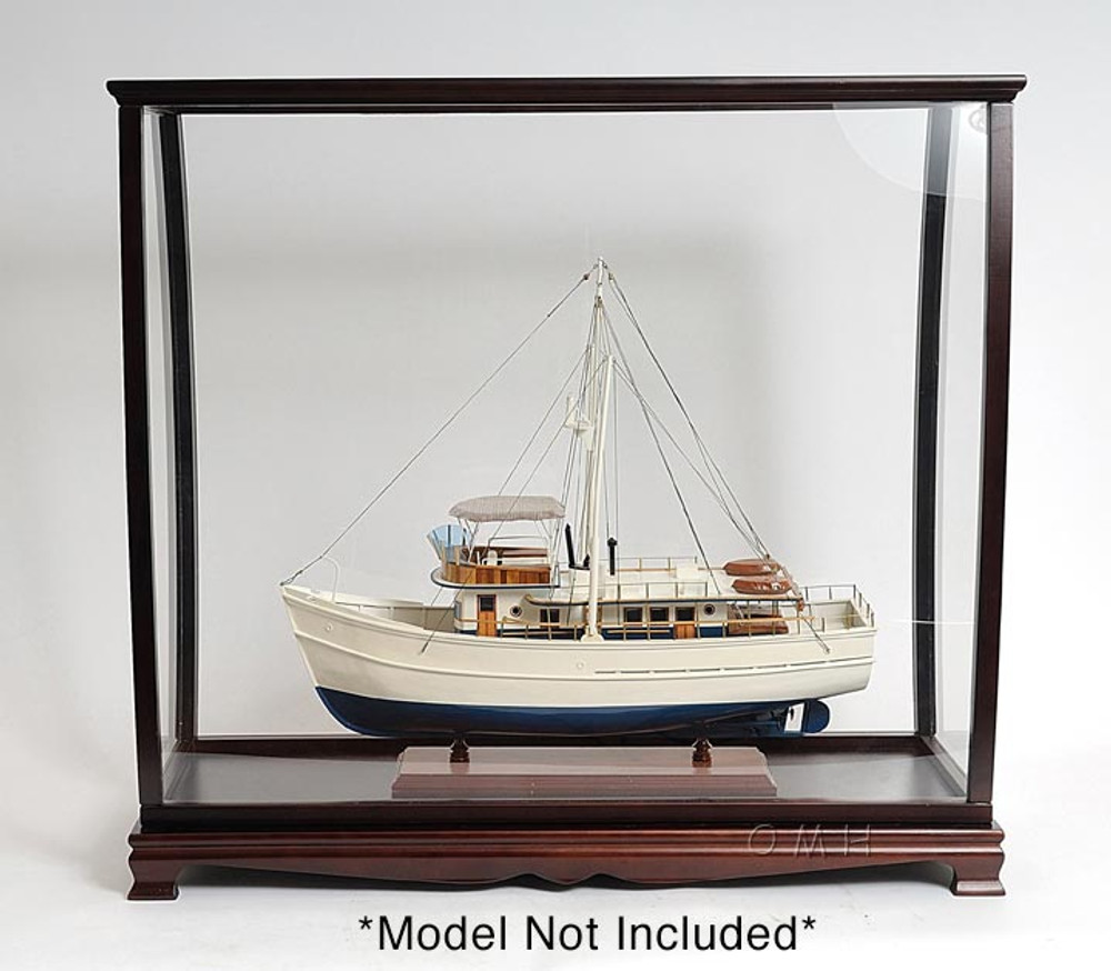 Table Top Ship Model Display Case