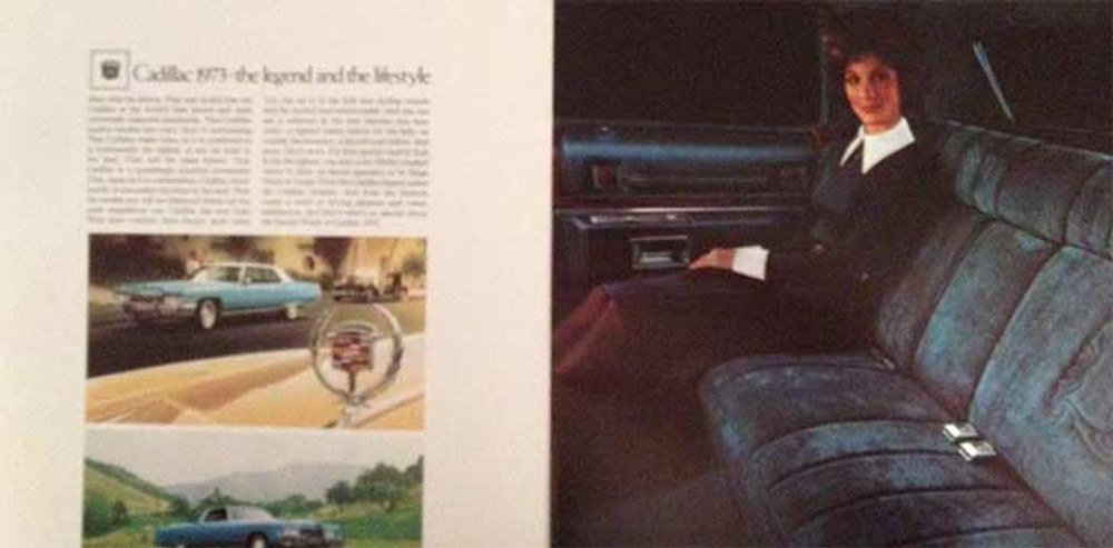 1973 Cadillac Full Line 24-Page Dealer Brochure