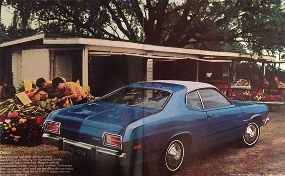 1973 Plymouth Duster Valiant Barracuda Brochure